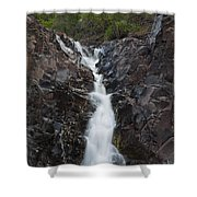 The Shallows Waterfall 5 Shower Curtain