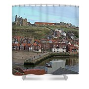 The Shambles - Whitby Shower Curtain