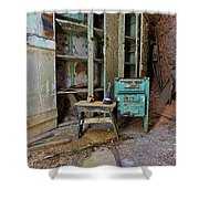 The Shoemaker Shower Curtain
