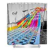 The Slide Shower Curtain
