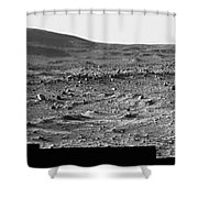 The Slopes Of Husband Hill Shower Curtain