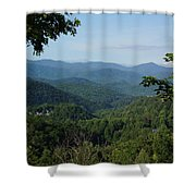 The Smoky Mountains Shower Curtain