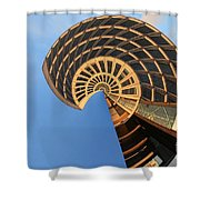 The Snail - Archifou 30 Shower Curtain