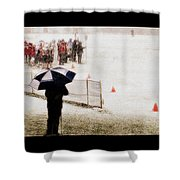 The Snow Game Shower Curtain