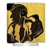 The Soulful Boxer Shower Curtain