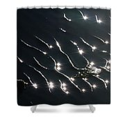 The Sparkling Ripples Shower Curtain