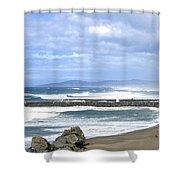 The Spectacular Oregon Coast Shower Curtain