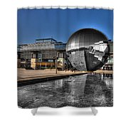 The Sphere At Bristol Shower Curtain