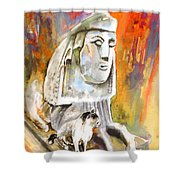 The Sphinx Of Petraion Shower Curtain