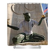 The Spirit Of Detroit Tigers Shower Curtain