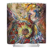 The Spirit Of Flowers Shower Curtain