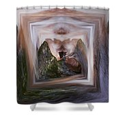 The Spirit Of Four Seasons Shower Curtain