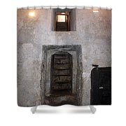 The Stairs To John The Baptist Tomb Shower Curtain