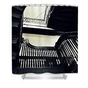 The Stairway Shower Curtain