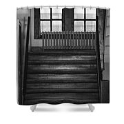 The Stairway Shower Curtain