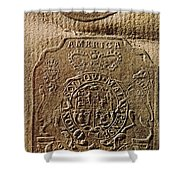 The Stamp Act Shower Curtain by Photo Researchers