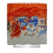 The Stanford Legacy  2 Of 3 Shower Curtain