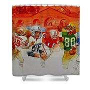 The Stanford Legacy  3 Of 3 Shower Curtain