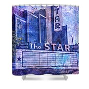 The Star Shower Curtain