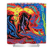 The Stars At Night Shower Curtain
