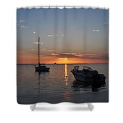 The Still Of The Night Shower Curtain