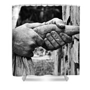 The Stone Mason Shower Curtain