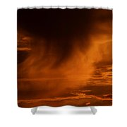 The Storm Is Brewing Shower Curtain