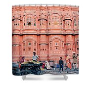 Street Life Of India Shower Curtain