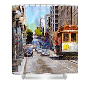 The Streets Of San Francisco . 7d7263 Shower Curtain