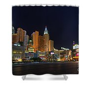 The Strip Shower Curtain