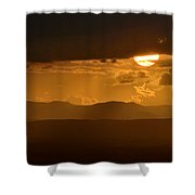 The Sun And De Storm Shower Curtain