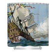 The Swedish Warship Vasa Shower Curtain
