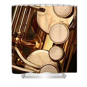 The Sweet Sound Of Old Jazz Shower Curtain