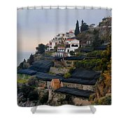 The Terraces Of Amalfi Shower Curtain