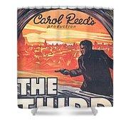 The Third Man  Shower Curtain