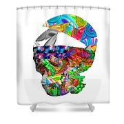 The Thought Escapes Me Shower Curtain
