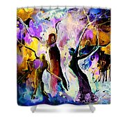 The Three Grace From Spain Shower Curtain