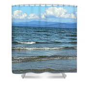 The Tide Was High Shower Curtain