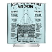 The Titanic Shower Curtain