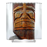 The Totem Canada Shower Curtain