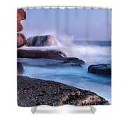 The Touch Of The Sea Shower Curtain
