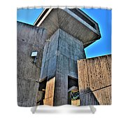 The Tower At The Erie Basin Marina Shower Curtain