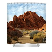The Trail Through The Valley Shower Curtain