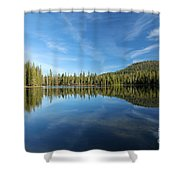 The Tree Line Shower Curtain