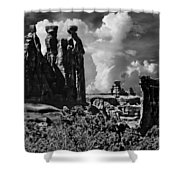The Tribunal Arches National Park Shower Curtain