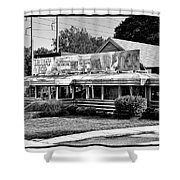 The Trolley Car Diner - Chestnut Hill Philadelphia Shower Curtain