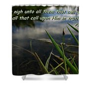 The Truth Factor Shower Curtain