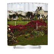 The Tuilleries Garden In Paris Shower Curtain