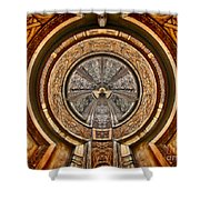 The Turbine - Archifou 63 Shower Curtain