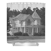 The Turret Room Shower Curtain
